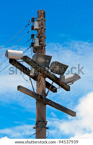 Electrical posts a great image for your job.