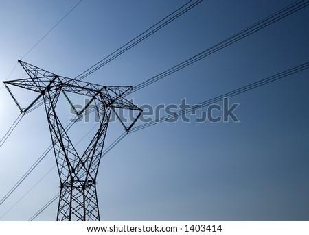 Electrical Pylon - stock photo