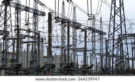 Electrical substation , power converter.