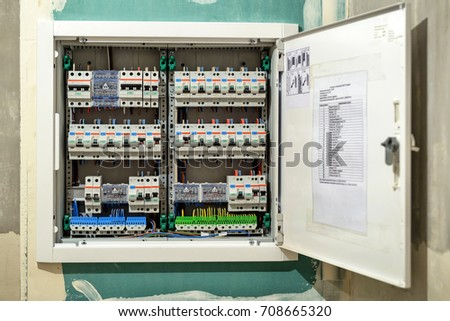 fuse box opened wiring diagram electricity fuse box home fuse box picture open #8