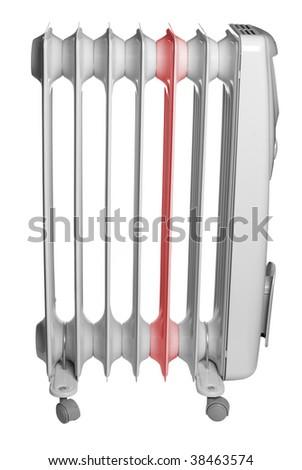 Electrical warmer - stock photo
