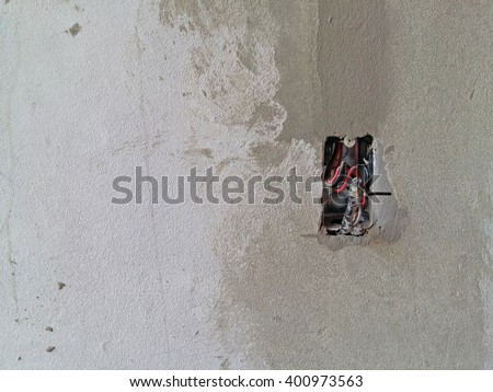 how to find electrical wires in concrete walls