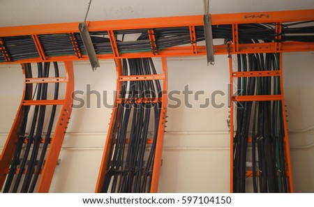cable tray stock images, royalty free images & vectors shutterstock, electrical wiring, electrical wiring support