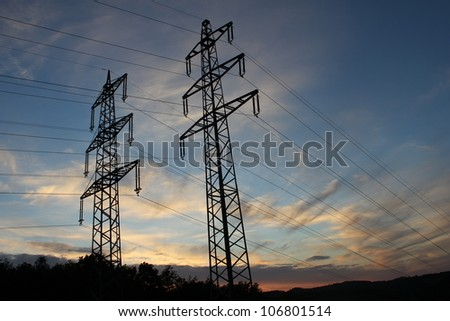electricity cables outdoor