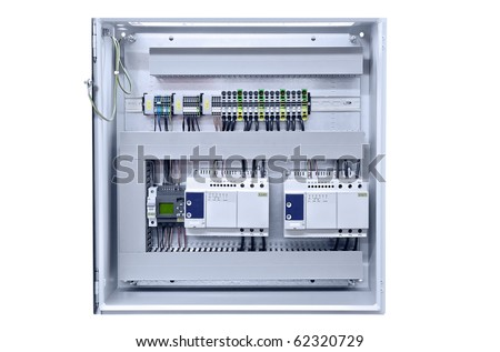 distribution board stock images royalty images vectors electricity distribution box wires and circuit breakers fuse box