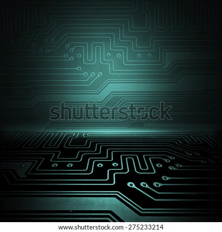 Electronic background concept. You can put your image - stock photo