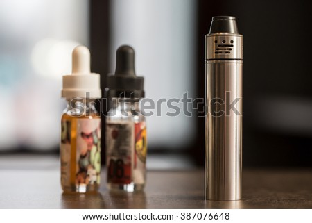 Electronic cigarette.