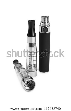 Electronic cigarette (e-cigarette) - stock photo