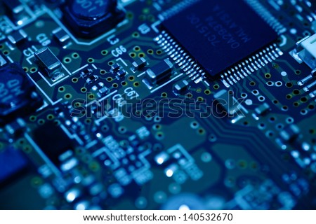 electronic component - stock photo