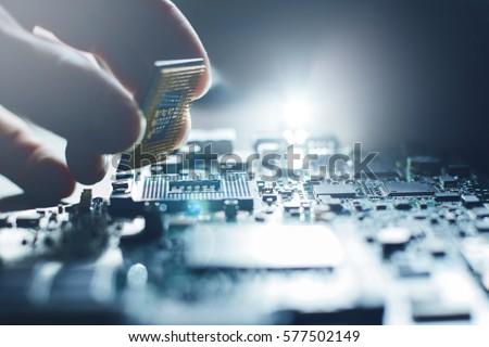 Electronic Engineer Computer Technology Maintenance border=