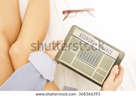 electronic press of the economy and finance