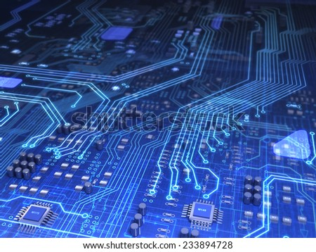 Electronics - stock photo
