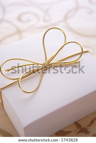 elegance giftbox. best for theme: christmas, birthday, celebration, anniversary - stock photo
