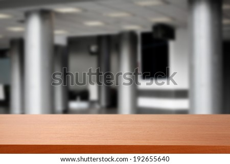 elegance office and desk  - stock photo