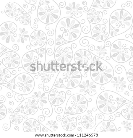 Elegance seamless floral pattern - stock photo