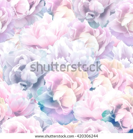 Elegance seamless floral pattern. - stock photo