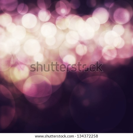 Elegant abstract background with bokeh defocused lights. - stock photo
