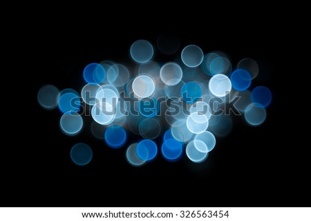 Elegant abstract background with bokeh defocused lights - stock photo