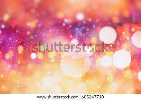 elegant abstract background with bokeh lights and stars Texture