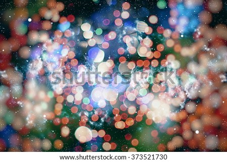 elegant abstract background with lights