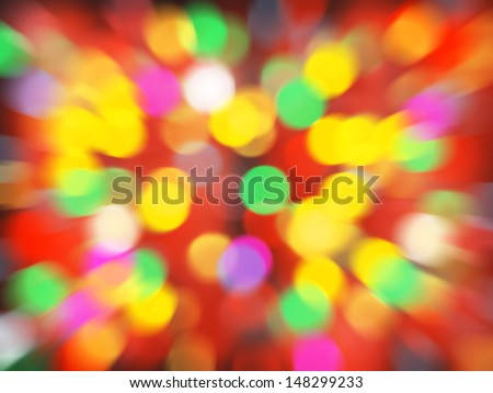Elegant abstract background zoom circular colorful bokeh