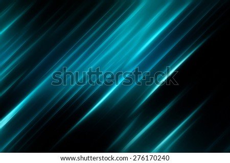 Elegant abstract diagonal blue background with lines - stock photo