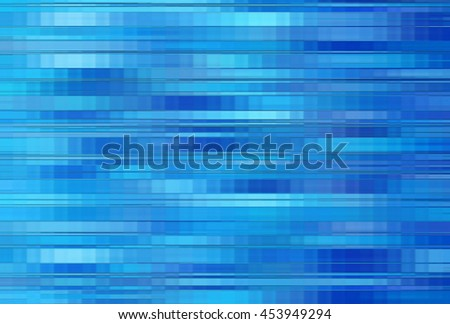 Elegant abstract horizontal blue background with lines