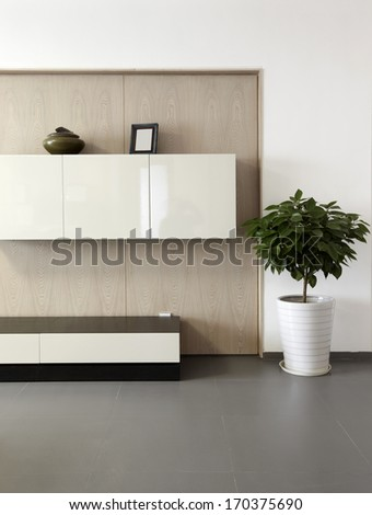 Elegant and comfortable home interior  - stock photo