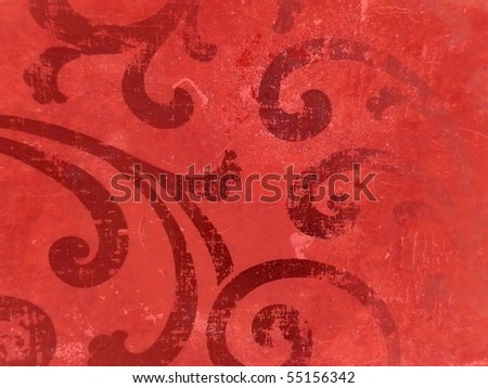 elegant arabian style decorative background. More of this motif & more backgrounds in my port. - stock photo