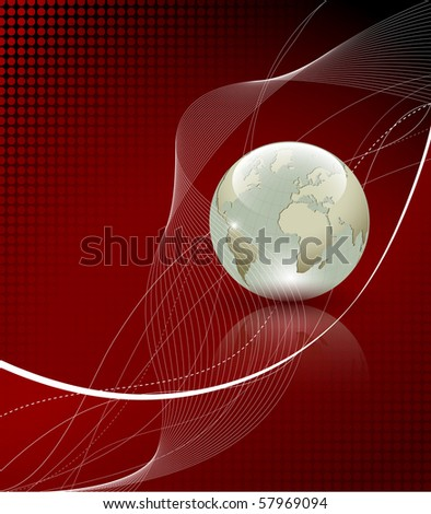Elegant background composition