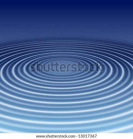 elegant blue ripples abstract background