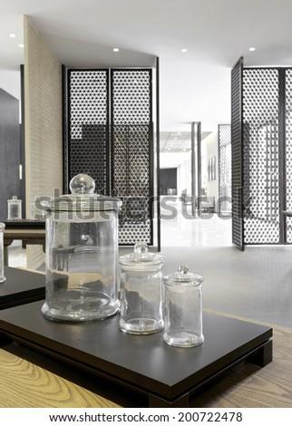 Elegant Business clubhouse interior  - stock photo