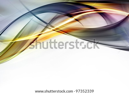 Elegant Design. The Best of My New Collection 2012 - stock photo