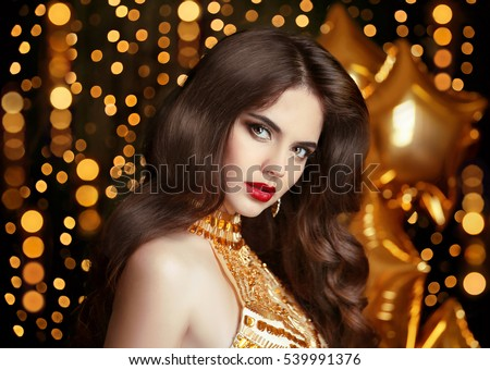 https://thumb1.shutterstock.com/display_pic_with_logo/662170/539991376/stock-photo-elegant-fashion-brunette-woman-portrait-in-gold-wavy-hair-style-red-lips-makeup-healthy-shiny-539991376.jpg