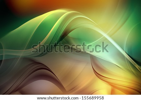Elegant Fractal Design - stock photo