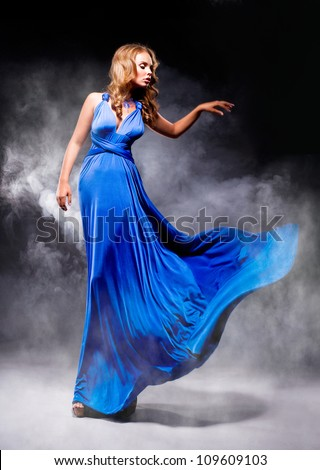 Blue Dress Stock Photos Royalty-Free Images &amp Vectors - Shutterstock
