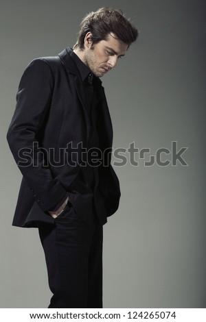 Elegant man - stock photo