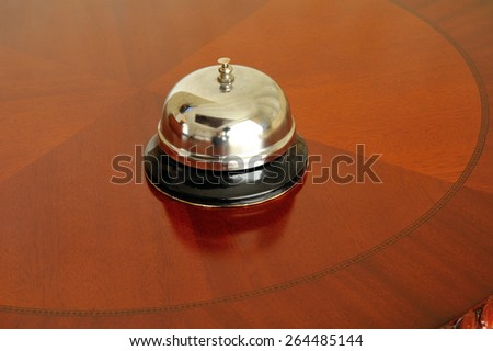 Elegant Old Ring Bell - stock photo