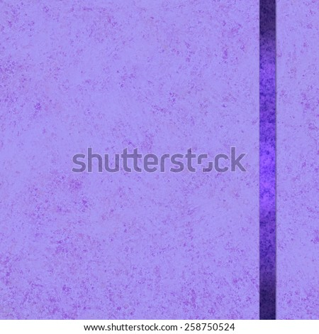 elegant purple background paper with sidebar dark purple ribbon accent, purple background, fancy blank poster or website template layout - stock photo