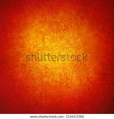 Elegant Red Gold Background Texture Paper Faint Rustic Grunge Border Paint Design Old Distressed