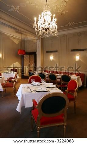 Elegant restaurant - stock photo