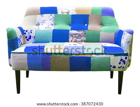 Elegant sofas - stock photo