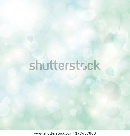 Elegant spring background.