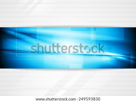 Elegant tech business background - stock photo