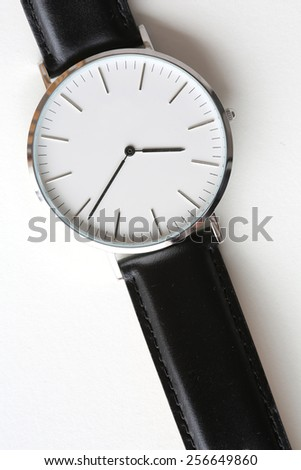 elegant watch. - stock photo