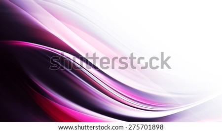 Elegant wave design - stock photo