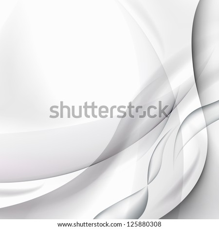 Elegant Wavy Background - Graphic Design Editable For Your Design. Beautiful Background For Business Brochure. - stock photo