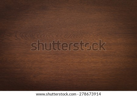 elegant wooden background texture with vignette - stock photo