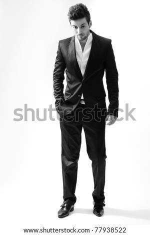 Elegant young businessman/young businessman