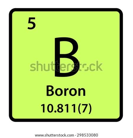 Element boron periodic table stock illustration 298533080 shutterstock element boron of the periodic table urtaz Image collections